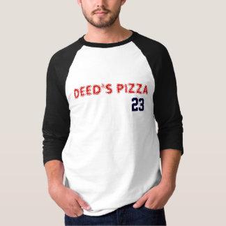 Deeds pizza t shirt