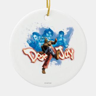 DeeJay 2 Ceramic Ornament
