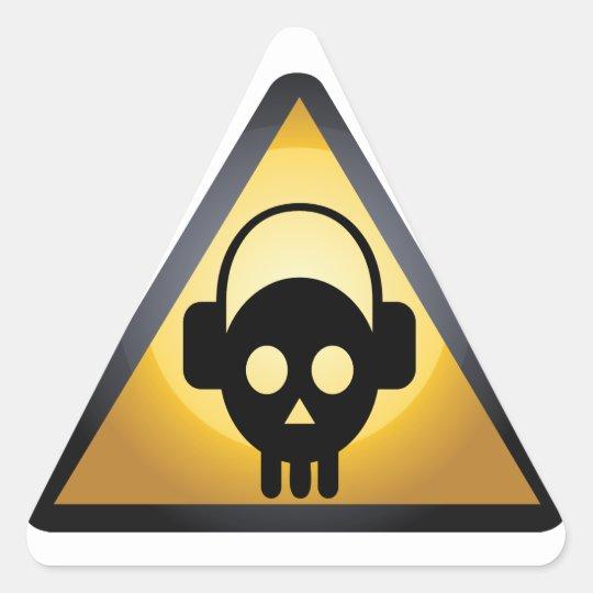 Deejay Danger Triangle Sticker