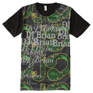 deejay dj cool and personalizable All-Over print shirt