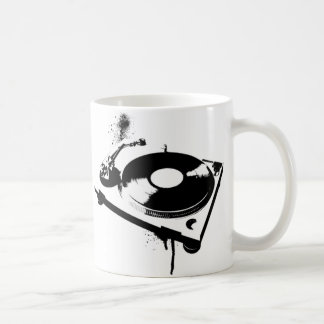 Deejay DJ Turntable Coffee Mug | House Music Gifts