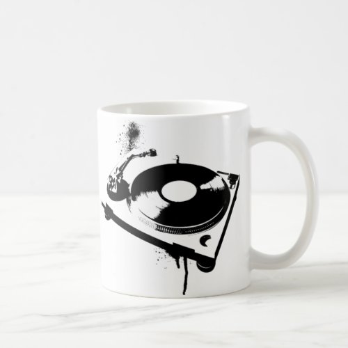 Deejay DJ Turntable Coffee Mug | House Music Gifts