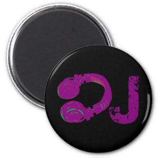 deejay headphone 2 inch round magnet