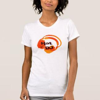 deejay music headphones - hot DJ T-shirts