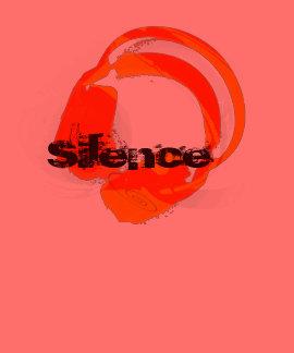 deejay music headphones - silence shirt