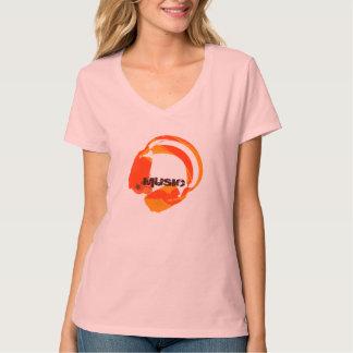 deejay music headphones T-Shirt