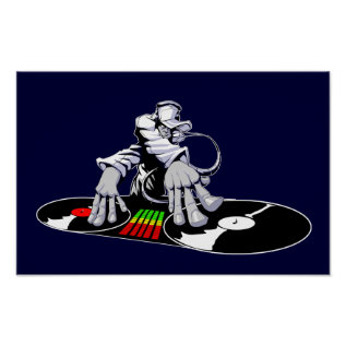 Deejay Poster at Zazzle