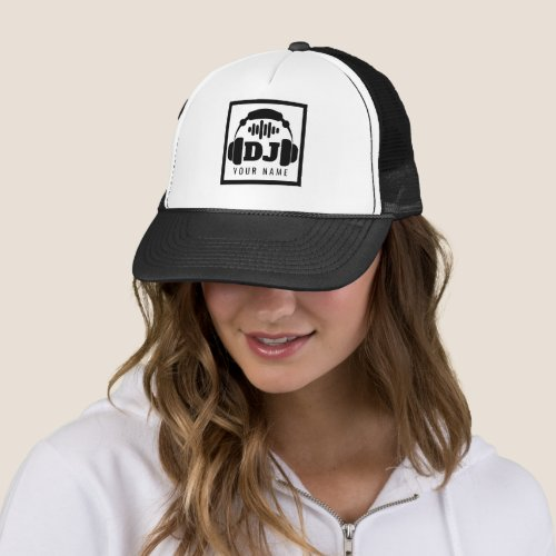 Deejay style inspiration cover trucker hat