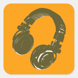 deejays headphone sticker