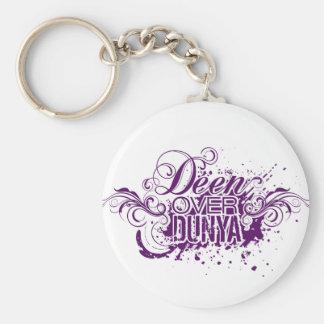 'Deen Over Dunya' Keychain