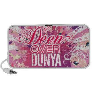 """""""Deen sobre gráfico de la flor de Dunya"""" - caja de Mp3 Altavoz"""