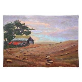 Deeney's Barn at Martin's Beach Placemat