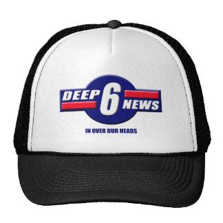 Deep6News Logo Hats