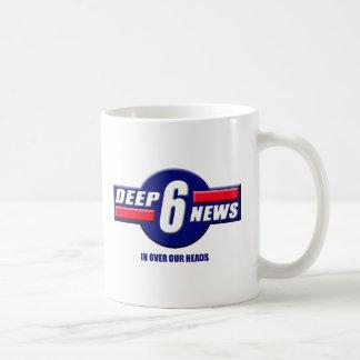 Deep6News Logo Coffee Mug