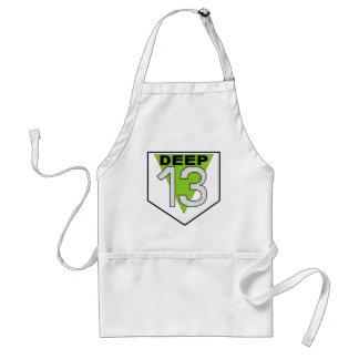 Deep 13 adult apron