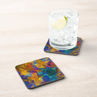 Deep Abstract Pattern Drink Coaster