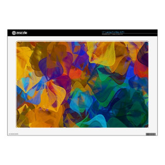 Deep Abstract Pattern Laptop Decal
