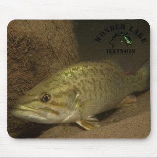 Deep Bass Wonder Lake Mousepad