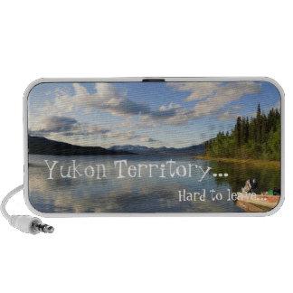 Deep Bay; Yukon Territory Souvenir Laptop Speaker