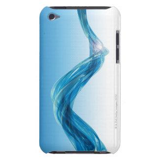 Deep blue 3D lightscape iPod Touch Case