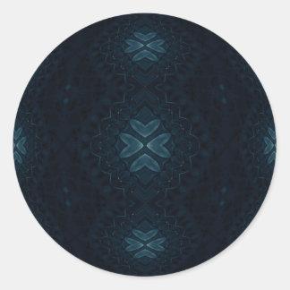 Deep Blue Beauty Stickers