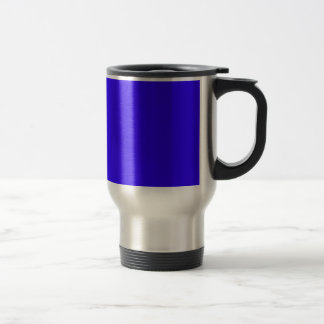 Deep Blue Color Only Custom Design Products 15 Oz Stainless Steel Travel Mug