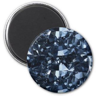 Deep Blue Diamond Effect Magnet