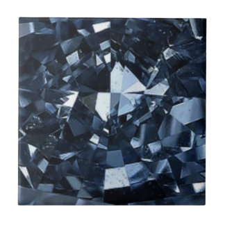 Deep Blue Diamond Effect Tile