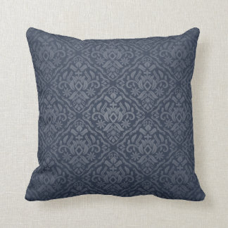 deep blue dream throw pillow