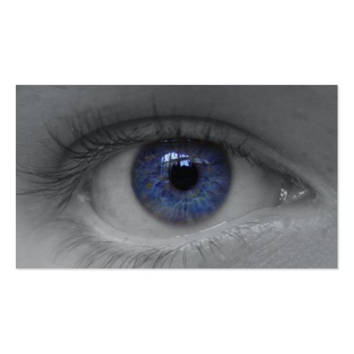 deep blue eye buissnes card business card templates