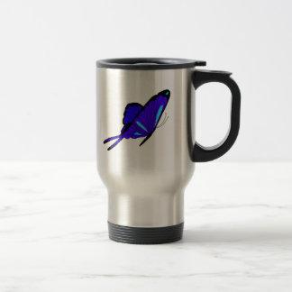 Deep Blue Flutters Mug
