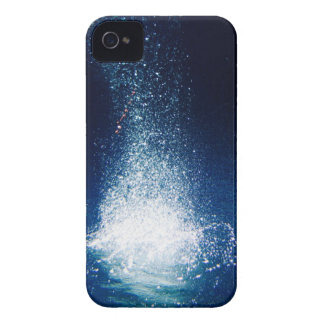 Deep Blue Galaxy Stars iPhone 4 Cover