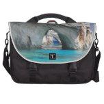 Deep Blue Laptop Messenger Bag