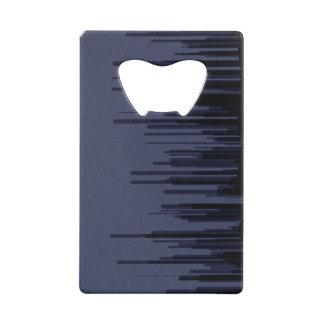 Deep Blue Line Card Opener