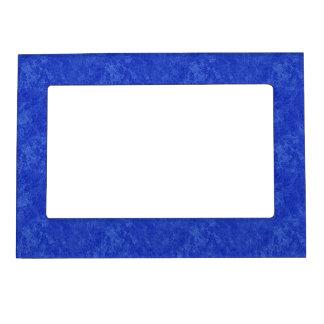 Deep Blue Marble Look Magnetic Frame