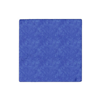 Deep Blue Marble Stone Magnet