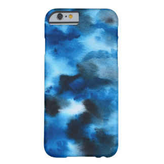 Deep Blue Marble Watercolor Phone Case