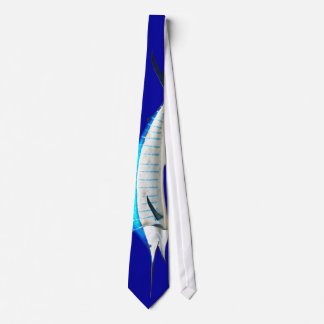 Deep Blue Marlin Tie
