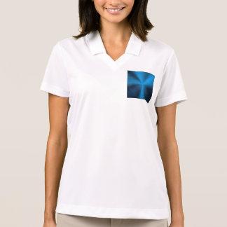 Deep blue,metallic,trendy,fun,happy,hipster,modern polo t-shirts