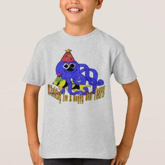 Deep Blue New Year T-Shirt