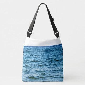 Deep Blue Ocean Crossbody Bag