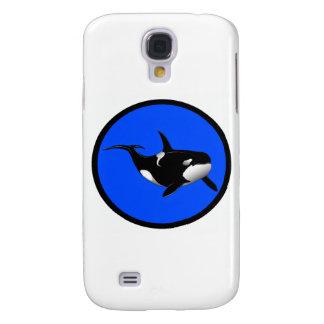 DEEP BLUE ORCA GALAXY S4 CASE