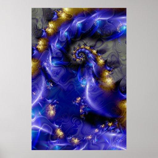 Deep blue. poster
