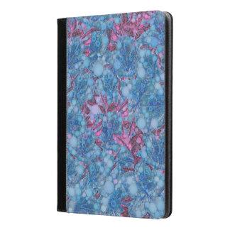Deep Blue Purple Abstract Flowers iPad Air Case