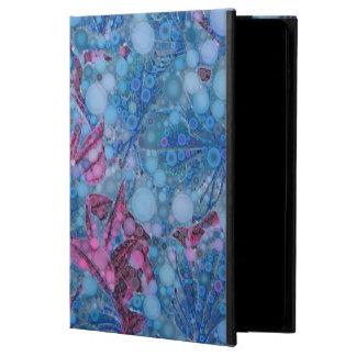 Deep Blue Purple Abstract Flowers Powis iPad Air 2 Case