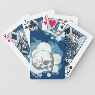 Deep Blue Scully Playing Deck Bicycle Playing Cards