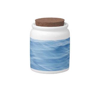 deep blue sea candy dish