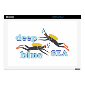 Deep Blue Sea Laptop Decals