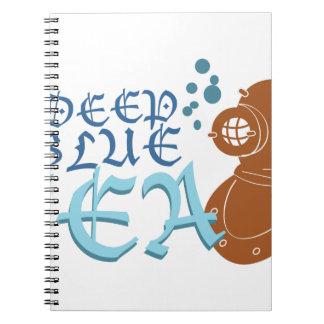 Deep Blue Sea Notebook