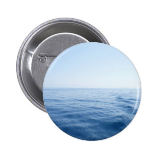 deep blue sea pinback button